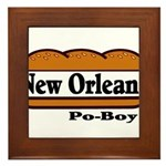 nolapoboy Framed Tile