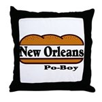 nolapoboy Throw Pillow