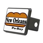 nolapoboy Rectangular Hitch Cover