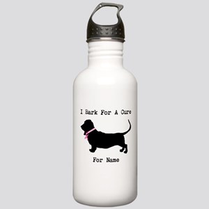 Basset Hound Personalizable Bark For A Cure Stainl