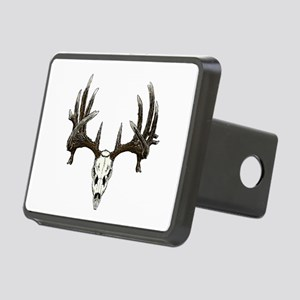 whitetail skull Rectangular Hitch Cover