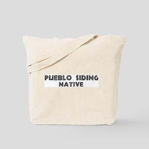 Pueblo Siding Native Tote Bag