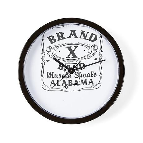 Brand X Band Wall Clock