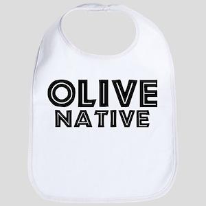 Olive Native Bib