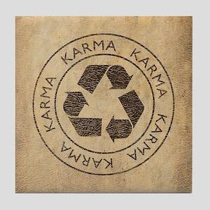 Vintage Karma Tile Coaster