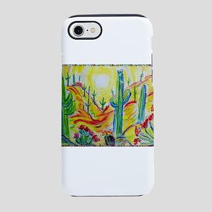 Saguaro Cactus, desert Southwest art! iPhone 7 Tou