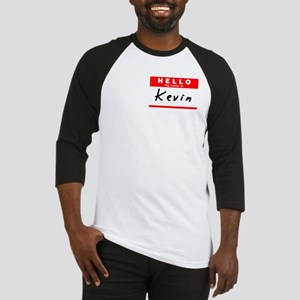 Kevin, Name Tag Sticker Baseball Jersey