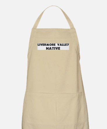 Livermore Valley Native BBQ Apron