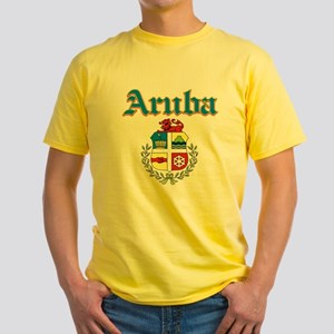 Aruba designs Yellow T-Shirt
