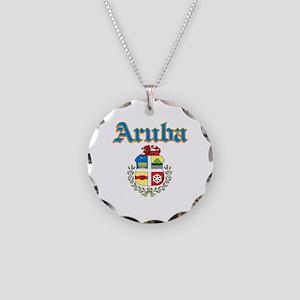 Aruba designs Necklace Circle Charm