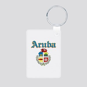 Aruba designs Aluminum Photo Keychain