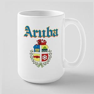 Aruba designs Large Mug