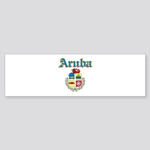 Aruba designs Sticker (Bumper)