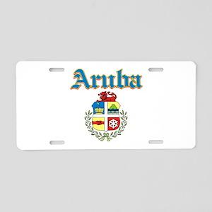 Aruba designs Aluminum License Plate