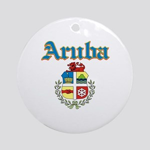 Aruba designs Ornament (Round)