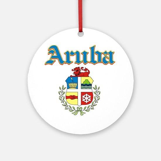 Aruba designs Ornament (Round)