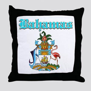 Bahamas designs Throw Pillow