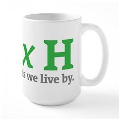 Width x Height Large Mug