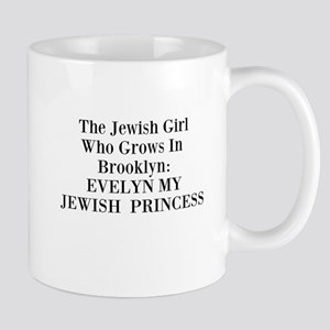 Tagline Evelyn My Jewish Princess memoir Mug