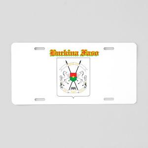 Burkina Faso designs Aluminum License Plate