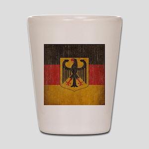 Vintage Germany Flag Shot Glass