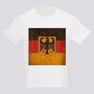 Vintage Germany Flag Kids Light T-Shirt