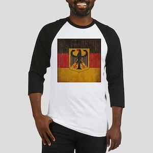 Vintage Germany Flag Baseball Jersey