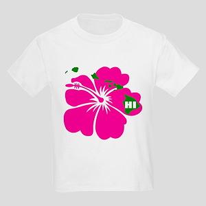 Hawaii Islands & Hibiscus Kids Light T-Shirt