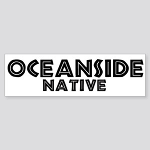Oceanside Native Bumper Sticker