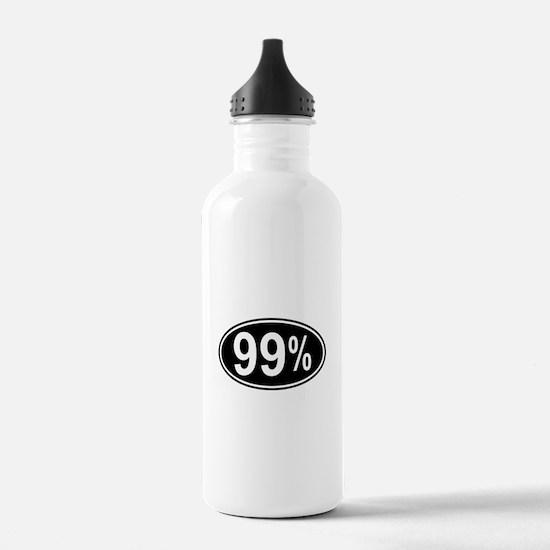 99 Percent Water Bottle