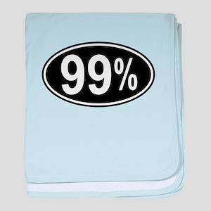 99 Percent baby blanket