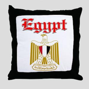 Egypt designs Throw Pillow