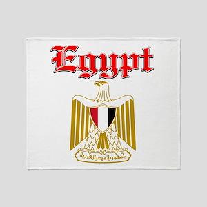 Egypt designs Throw Blanket
