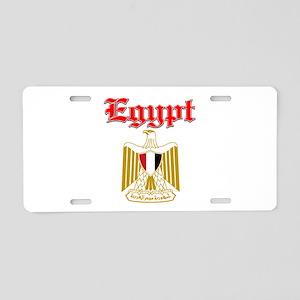Egypt designs Aluminum License Plate