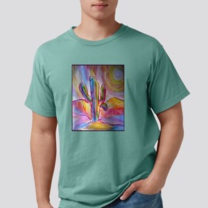 Saguaro cactus, southwest art Mens Comfort Colors