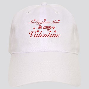 An Egyptian Mau is my Valentine Cap
