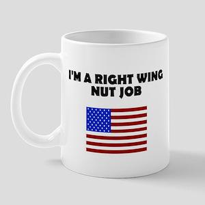 Right Wing Nut Job Mug