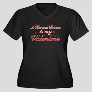 A Havana Brown is my valentine Women's Plus Size V