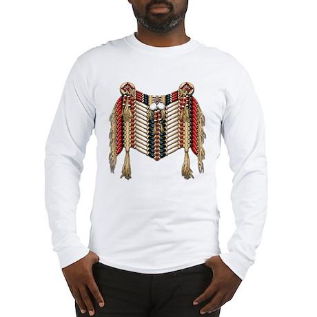 Native American Breastplate 10 Long Sleeve T-Shirt