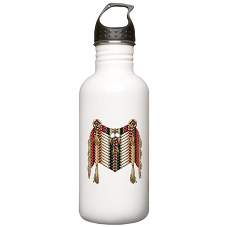 Native American Breastplate 10 Stainless Water Bot