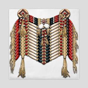 Native American Breastplate 10 Queen Duvet