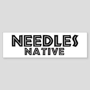 Needles Native Bumper Sticker