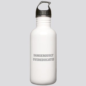 Dangerously Overeducated Stainless Water Bottle 1.