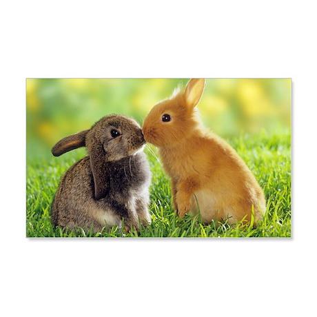 Love Bunnies 22x14 Wall Peel