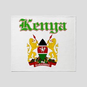 Kenya designs Throw Blanket