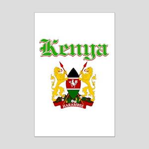 Kenya designs Mini Poster Print