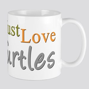 MUST LOVE Turtles Mug