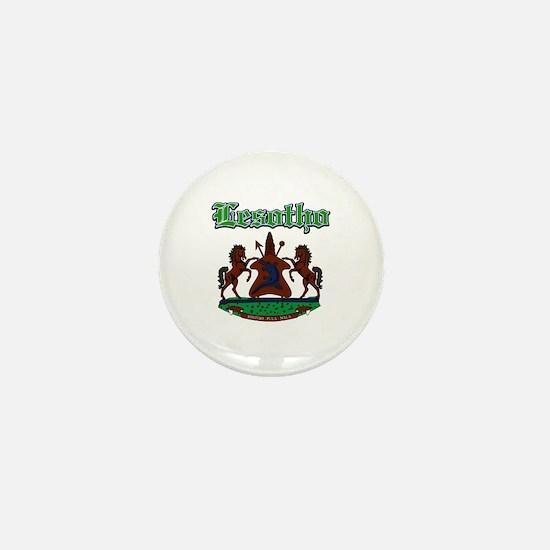 Lesotho designs Mini Button