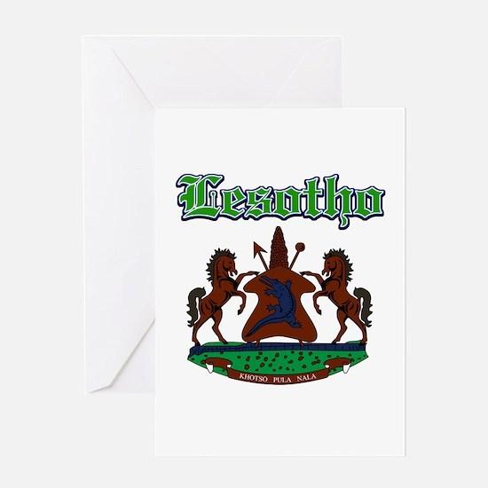 Lesotho designs Greeting Card
