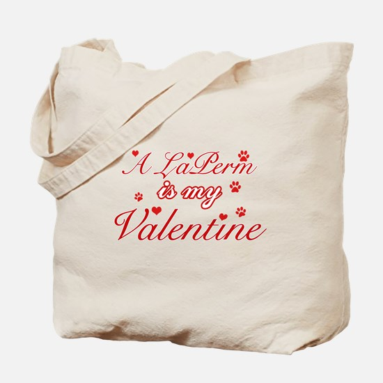 A Laperm is my valentine Tote Bag